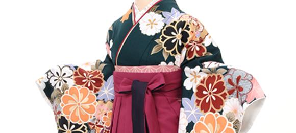 新宿 卒業袴コーディネート