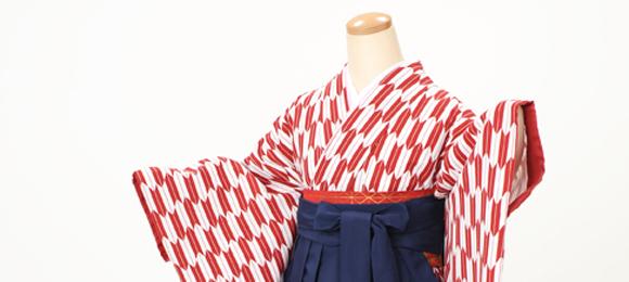 卒業袴レンタル 大正ロマンな女学生風ハイカラさんコーデ